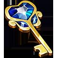 Coll keys ornate