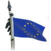 Flag deco european union