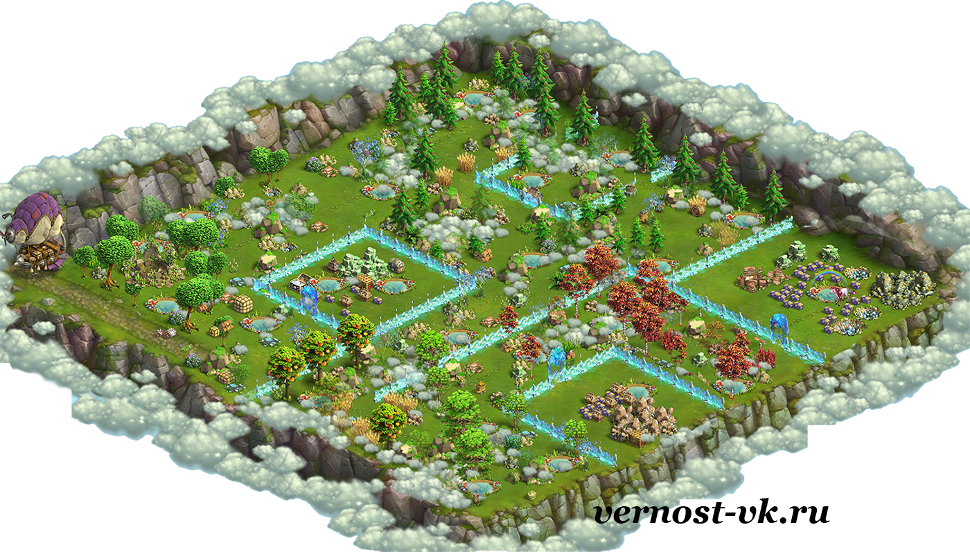 Map Enchanted Forest Ru01