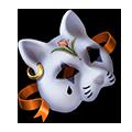 Coll masks feline