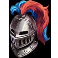 Coll helmet crested