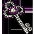 Coll keys silver