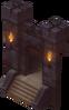 Door to the inn's storage