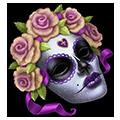 Coll masks flower