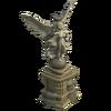 Queen statue