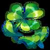 Clover petals
