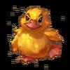 Rumpled gosling