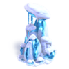 Res snow-covered crystal 3