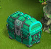 Treasure chest green 3