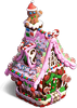 Gingerbread house sweet kingdom