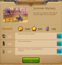 Quest summer mystery