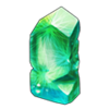 Coll nephrite faceted