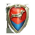 Coll heraldry dachshund