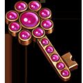 Coll keys pink