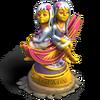 Gemini statue