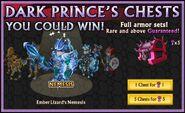 Ember Lizard's Nemesis in the Dark Prince's Chest
