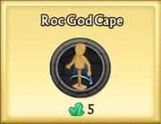 Roc God Cape