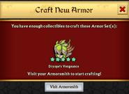 Dryope's Vengeance Craft Unlock