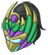 Green Kaleidoscopic Raiment-Head