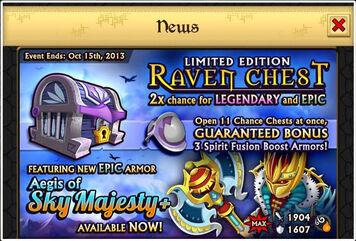 Raven chest