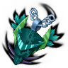 Creature Scalemail-Creature Talisman (Amulet)