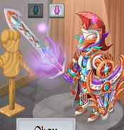 Bronze Chromatic Mantle Final Evolution