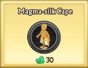 Magma-silk Cape
