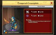 Tempered Crownplate 0 Evo