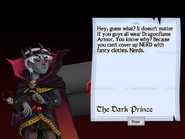 Seventh Letter from the Dark Prince