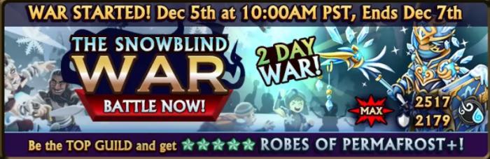 Snowblind War