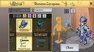 Demon Carapace Male 1