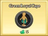 Green Royal Cape