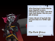Second Letter from the Dark Prince