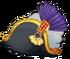 Admirals Battleworn Regalia-Head