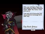 Tenth Letter from the Dark Prince