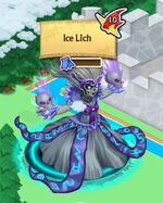 Ice Lich on World Map
