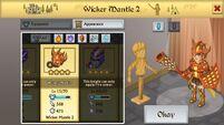 Wicker Mantle 2 F