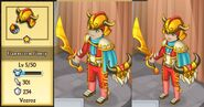 Flamestorm Finery Evolution 1