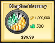 Kingdom Treasury updated