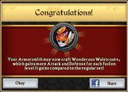 Wonderous Waistcoat Plus Unlock