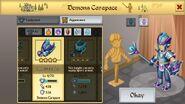 Demon's Carapace Male 1