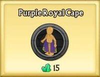 Purple Royal Cape