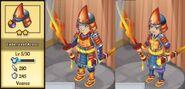 Embersteel Armor Evolution 1