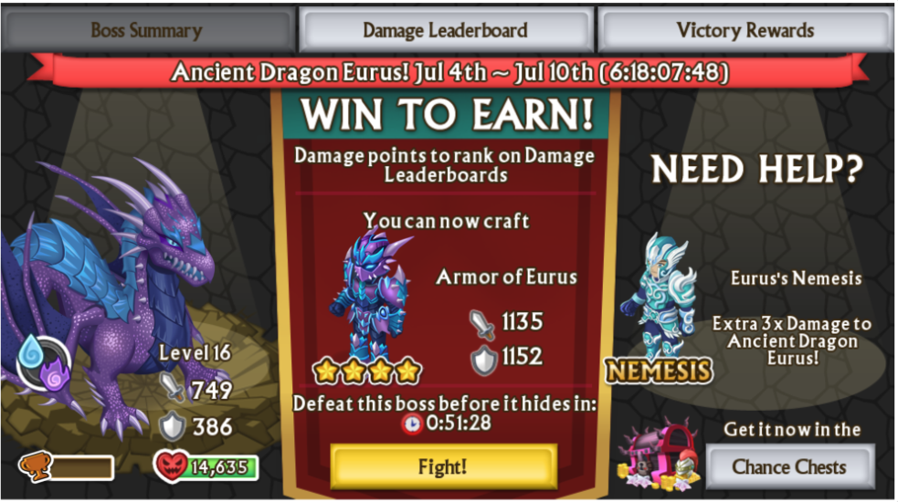 Knights And Dragons Heroic Mode