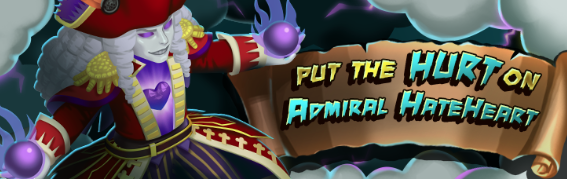 Admiral Hateheart Banner