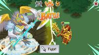 Corvus on the battlefield