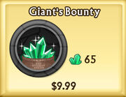 Giant's Bounty Update
