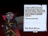 Ninth Letter from the Dark Prince