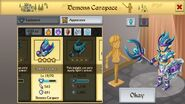 Demon's Carapace Female 2