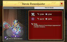 Heroic Demonhunter-Stats